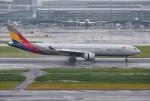 mojioさんが、羽田空港で撮影したアシアナ航空 A330-323Xの航空フォト(写真)