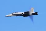 ふるちゃんさんが、岩国空港で撮影したアメリカ海兵隊 F/A-18D Hornetの航空フォト(写真)