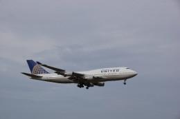 senbaさんが、成田国際空港で撮影したユナイテッド航空 747-422の航空フォト(飛行機 写真・画像)