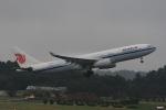 みるぽんたさんが、成田国際空港で撮影した中国国際航空 A330-243の航空フォト(写真)