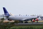 多楽さんが、成田国際空港で撮影したスカンジナビア航空 A340-313Xの航空フォト(写真)