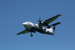 hachiさんが、新千歳空港で撮影したオーロラ DHC-8-200Q Dash 8の航空フォト(写真)