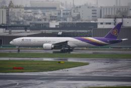 mojioさんが、羽田空港で撮影したタイ国際航空 777-3D7/ERの航空フォト(写真)