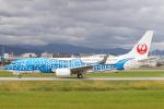 keks34さんが、福岡空港で撮影した日本トランスオーシャン航空 737-8Q3の航空フォト(写真)