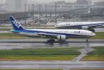 mojioさんが、羽田空港で撮影した全日空 777-281の航空フォト(写真)