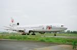 tokadaさんが、名古屋飛行場で撮影した日本航空 MD-11の航空フォト(写真)