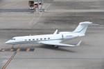B747‐400さんが、羽田空港で撮影したウィルミントン・トラスト・カンパニー G-V-SP Gulfstream G550の航空フォト(写真)