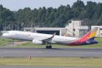 B747‐400さんが、成田国際空港で撮影したアシアナ航空 A321-231の航空フォト(写真)