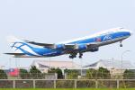 KIMISTONERさんが、台湾桃園国際空港で撮影したエアブリッジ・カーゴ・エアラインズ 747-46NF/ER/SCDの航空フォト(写真)