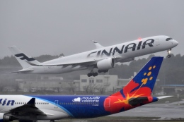 flytaka78さんが、成田国際空港で撮影したフィンエアー A350-941XWBの航空フォト(写真)