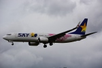 HISAHIさんが、福岡空港で撮影したスカイマーク 737-86Nの航空フォト(写真)