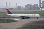 turenoアカクロさんが、羽田空港で撮影したデルタ航空 777-232/ERの航空フォト(写真)