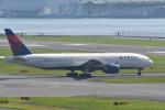 平手 孝徳さんが、羽田空港で撮影したデルタ航空 777-232/ERの航空フォト(写真)