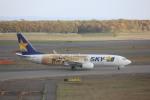 meijeanさんが、新千歳空港で撮影したスカイマーク 737-86Nの航空フォト(写真)