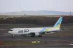 meijeanさんが、新千歳空港で撮影したAIR DO 767-33A/ERの航空フォト(写真)