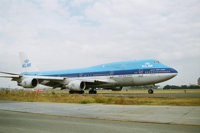 KLMオランダ航空 Boeing 747-400...