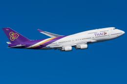Tomo-Papaさんが、羽田空港で撮影したタイ国際航空 747-4D7の航空フォト(写真)