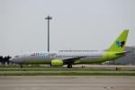 ハピネスさんが、関西国際空港で撮影したジンエアー 737-86Nの航空フォト(写真)