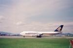 tokadaさんが、伊丹空港で撮影したシンガポール航空 747-312の航空フォト(写真)