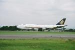 tokadaさんが、名古屋飛行場で撮影したシンガポール航空 747-412の航空フォト(写真)