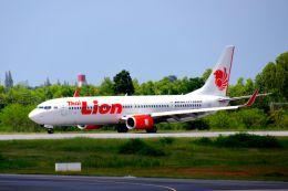 まいけるさんが、コーンケン空港で撮影したタイ・ライオン・エア 737-9GP/ERの航空フォト(飛行機 写真・画像)