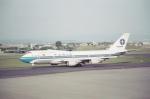 tokadaさんが、名古屋飛行場で撮影したヴァリグ 747-341の航空フォト(写真)