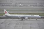 よしポンさんが、羽田空港で撮影した中国国際航空 A321-213の航空フォト(写真)