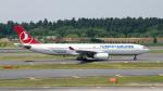 ぱん_くまさんが、成田国際空港で撮影したターキッシュ・エアラインズ A330-343Xの航空フォト(写真)