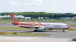 ぱん_くまさんが、成田国際空港で撮影した中国東方航空 A330-343Xの航空フォト(写真)