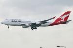 たみぃさんが、香港国際空港で撮影したカンタス航空 747-48Eの航空フォト(写真)