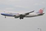 たみぃさんが、香港国際空港で撮影したチャイナエアライン 747-409F/SCDの航空フォト(写真)