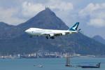 オポッサムさんが、香港国際空港で撮影したキャセイパシフィック航空 747-467F/ER/SCDの航空フォト(写真)