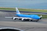 オポッサムさんが、香港国際空港で撮影したKLMオランダ航空 747-406Mの航空フォト(写真)