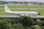 utarou on NRTさんが、嘉手納飛行場で撮影したアメリカ空軍 RC-135W (717-158)の航空フォト(写真)