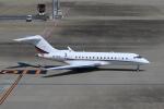 たまさんが、羽田空港で撮影したネットジェッツ・エイビエーション BD-700-1A10 Global 6000の航空フォト(写真)