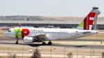誘喜さんが、マドリード・バラハス国際空港で撮影したTAP ポルトガル航空 A319-111の航空フォト(写真)