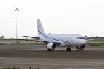 たまさんが、羽田空港で撮影したグローバル・ジェット・ルクセンブルク A319-115CJの航空フォト(写真)