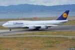 SKY☆101さんが、関西国際空港で撮影したルフトハンザドイツ航空 747-430の航空フォト(写真)