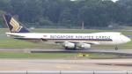 誘喜さんが、シンガポール・チャンギ国際空港で撮影したシンガポール航空カーゴ 747-412F/SCDの航空フォト(写真)