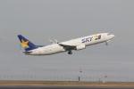 MA~RUさんが、羽田空港で撮影したスカイマーク 737-8ALの航空フォト(写真)