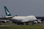 多楽さんが、成田国際空港で撮影したキャセイパシフィック航空 747-467F/ER/SCDの航空フォト(写真)