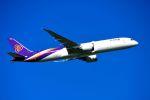 まいけるさんが、スワンナプーム国際空港で撮影したタイ国際航空 787-9の航空フォト(写真)
