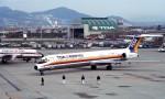 ハミングバードさんが、伊丹空港で撮影した東亜国内航空 MD-81 (DC-9-81)の航空フォト(写真)