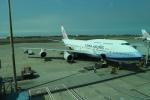 シフォンさんが、台湾桃園国際空港で撮影したチャイナエアライン 747-409の航空フォト(飛行機 写真・画像)
