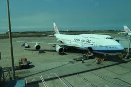 シフォンさんが、台湾桃園国際空港で撮影したチャイナエアライン 747-409の航空フォト(写真)