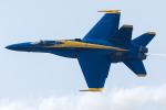 Tomo-Papaさんが、オシアナ海軍航空基地アポロソーセックフィールドで撮影したアメリカ海軍 F/A-18C Hornetの航空フォト(写真)
