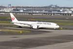 サリーちゃんのパパさんが、羽田空港で撮影した日本航空 787-9の航空フォト(写真)