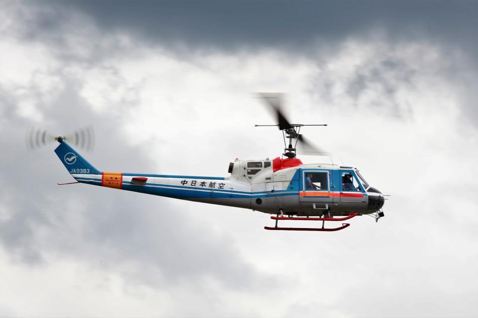 T.Sazenさんの中日本航空 Fuji 204/205 (JA9383) 航空フォト