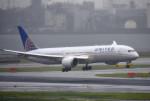mojioさんが、羽田空港で撮影したユナイテッド航空 787-9の航空フォト(写真)