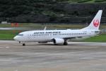 kiraboshi787さんが、長崎空港で撮影した日本航空 737-846の航空フォト(写真)